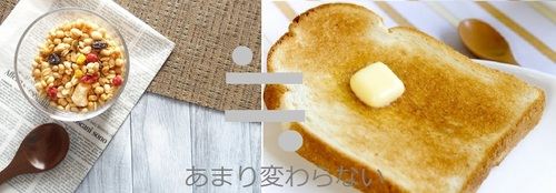 グラノーラと食パン.jpg